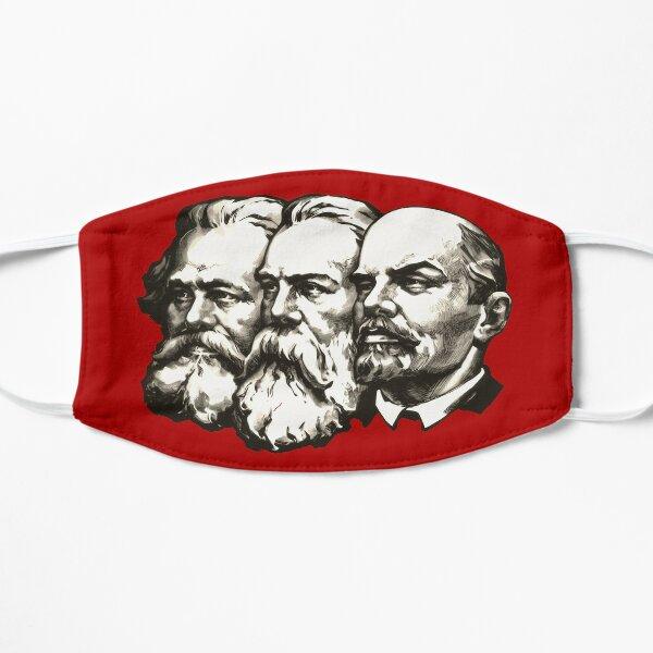 Marx, Engels and Lenin  Flat Mask