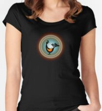 magic bird Women's Fitted Scoop T-Shirt
