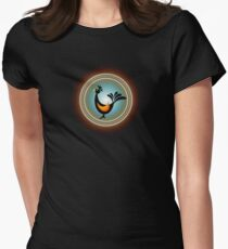 magic bird Women's Fitted T-Shirt