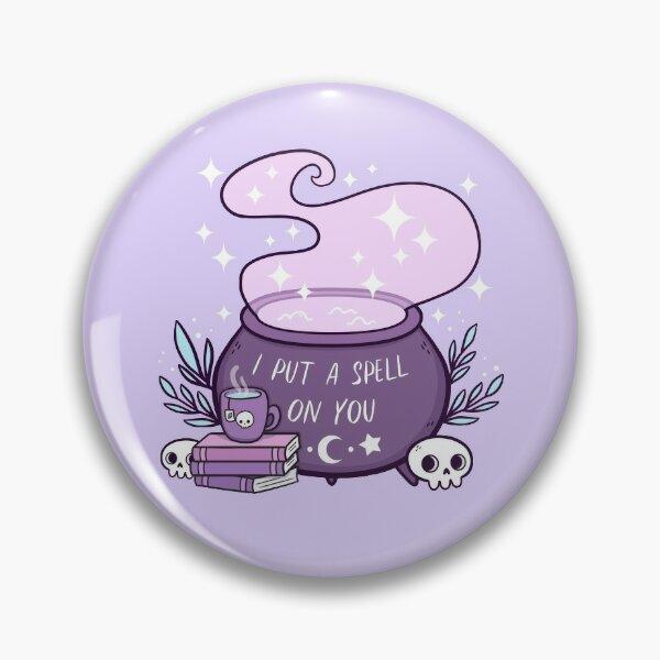 Witch Cauldron // Purple | Nikury Pin