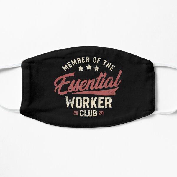 Vintage Essential employees Club shirt Quarantine Lockdown Worker Funny Meme Gift Mask