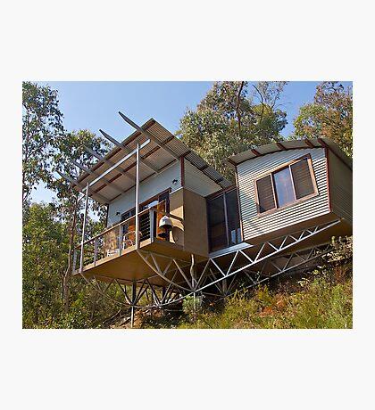 Mountain Eco-cottage, Bright, Victoria. Photographic Print