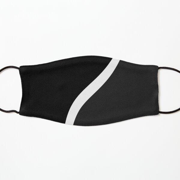 Black and white line Kids Mask