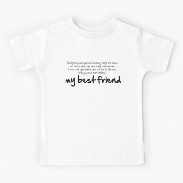 My best friend Camiseta para niños