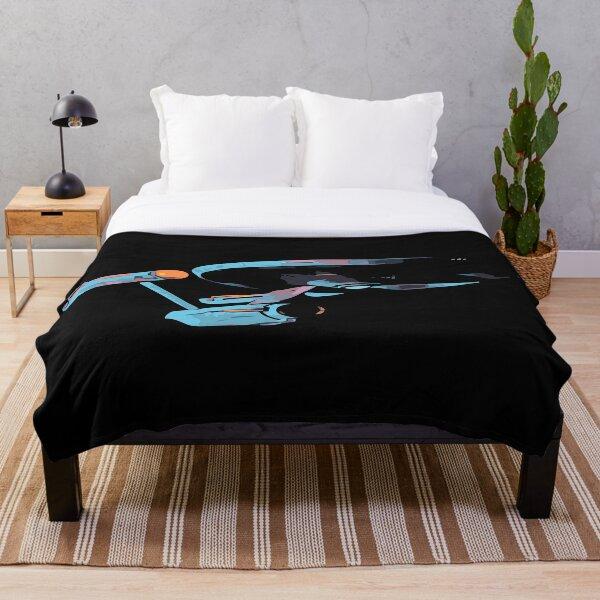 To boldly go Throw Blanket