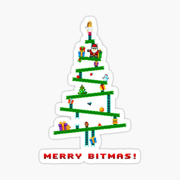 Merry Bitmas! Sticker
