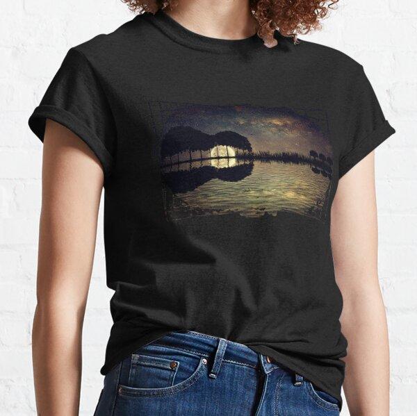 guitar island moonlight Classic T-Shirt