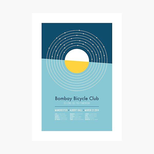 Bombay Bicycle Club Tour Photographic Print