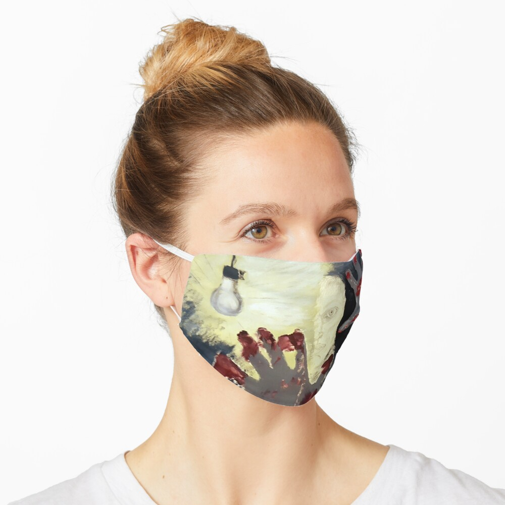 Creation. Adapted from the artist's oil painting. Mask