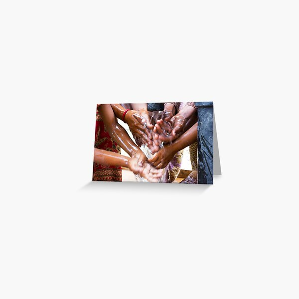 Clean Water Saves Lives Greeting Card