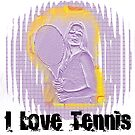 I Love Tennis by Mental Itch