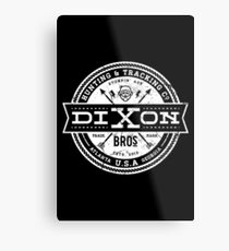 Dixon Bros. - White Version Metal Print