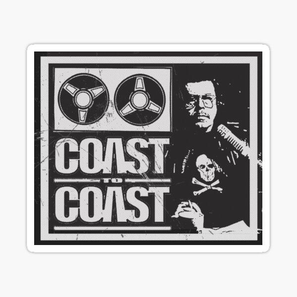Art Bell - Küste zu Küste AM [beunruhigt] Sticker
