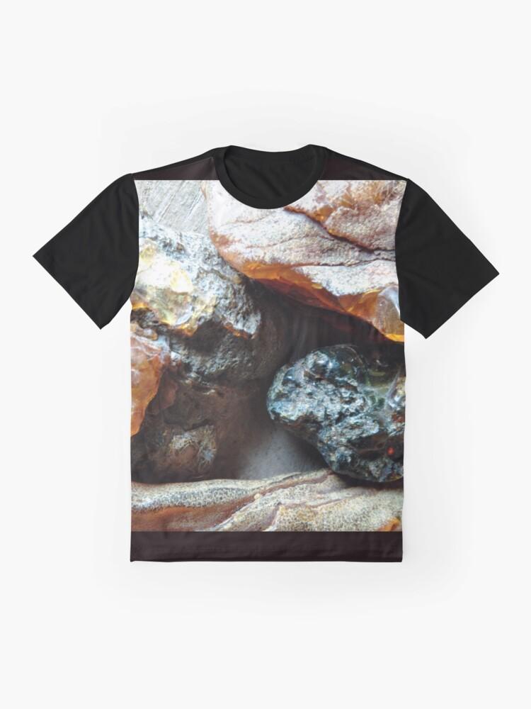 Alternative Ansicht von Bernstein Grafik T-Shirt