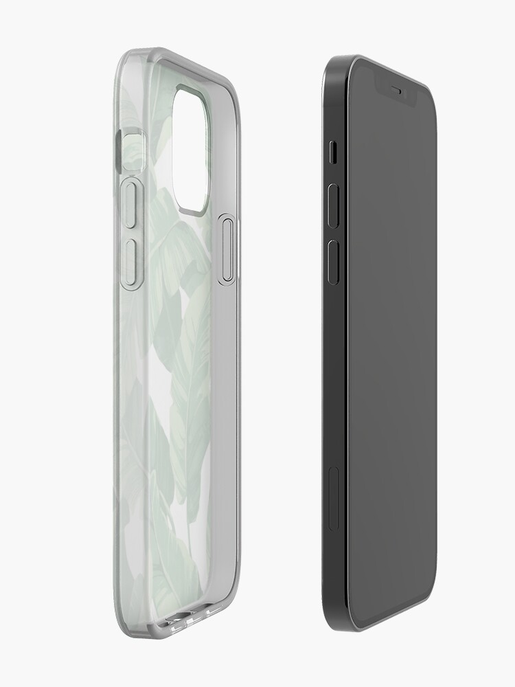 Alternate view of Tropical banana leaves II iPhone Case & Cover