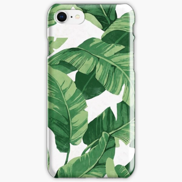 Tropical banana leaves II iPhone Snap Case