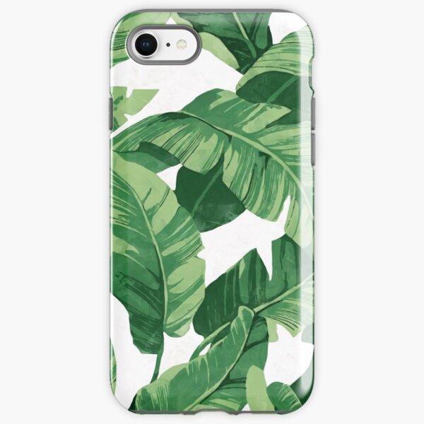 Tropical banana leaves II iPhone Tough Case