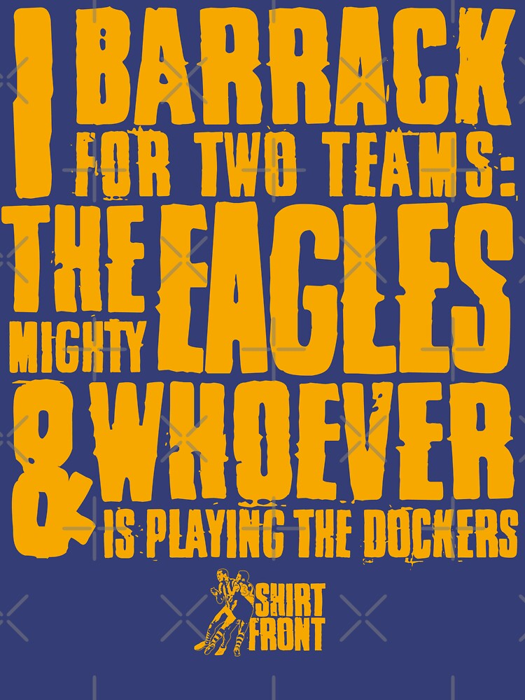 Two Teams: Eagles by shirtfront-co