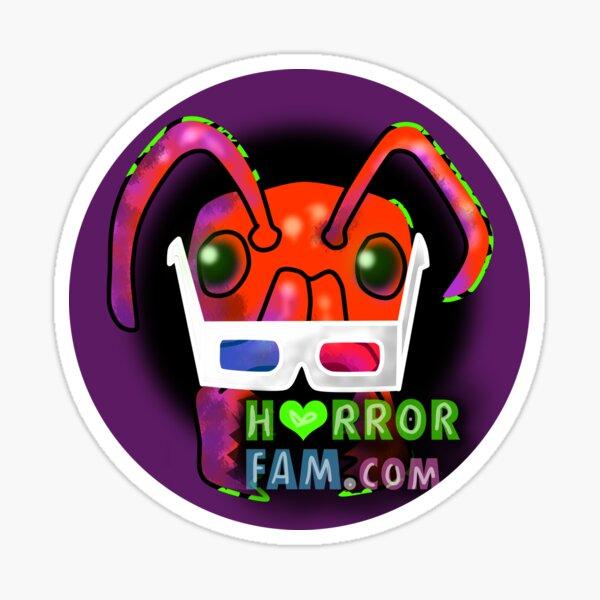 HorrorFam.com Social Logo Sticker