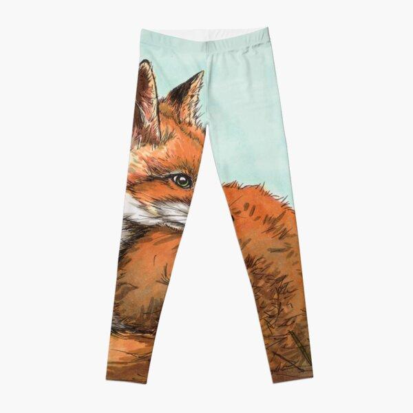 Fuchs auf Lichtung Leggings