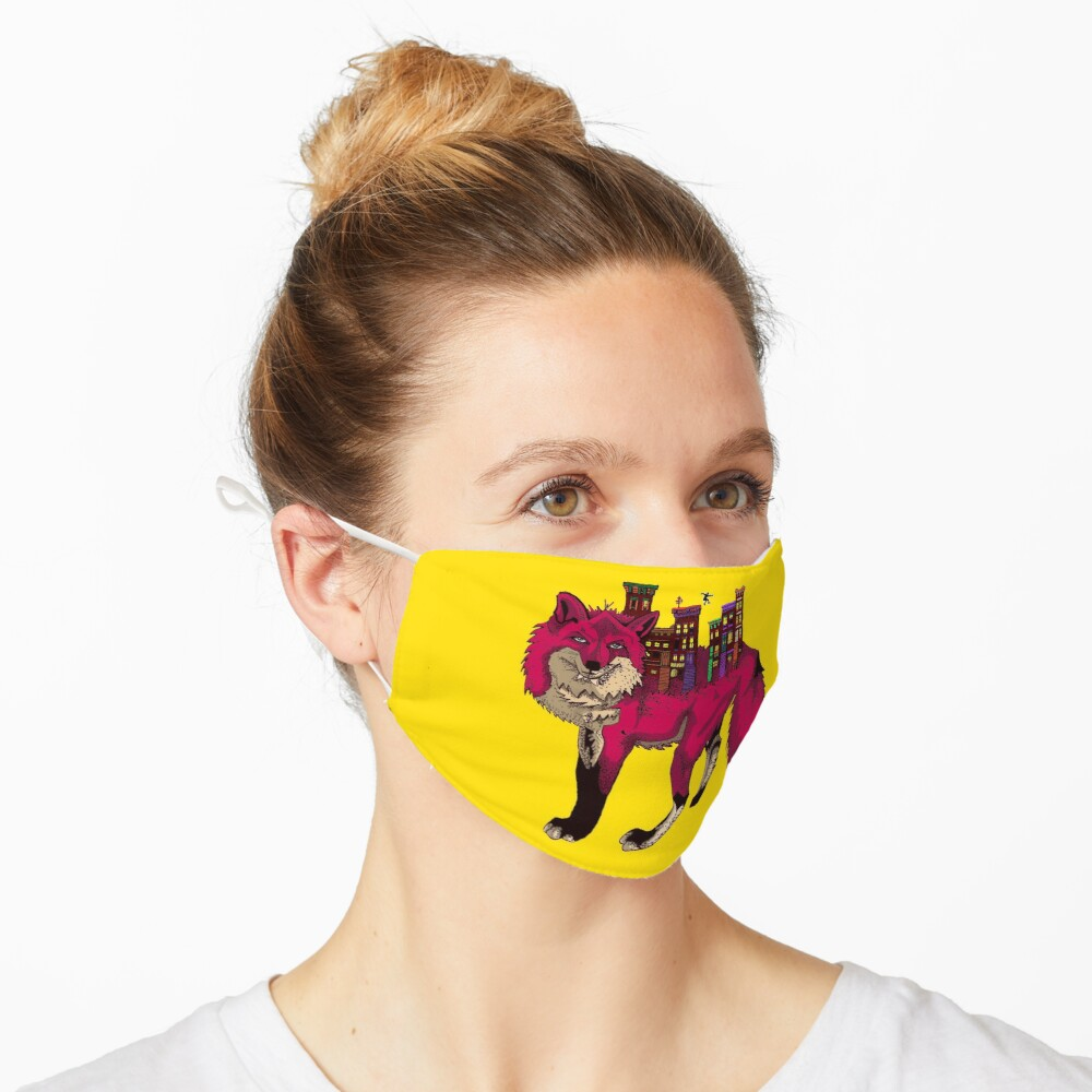 Brownstone Cold Fox Mask