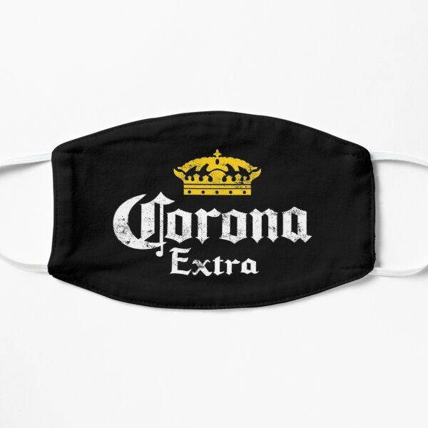 Corona Extra Beer Vintage Logo Mask