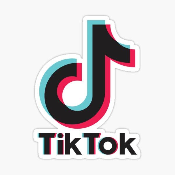 trending tik tok logo Sticker