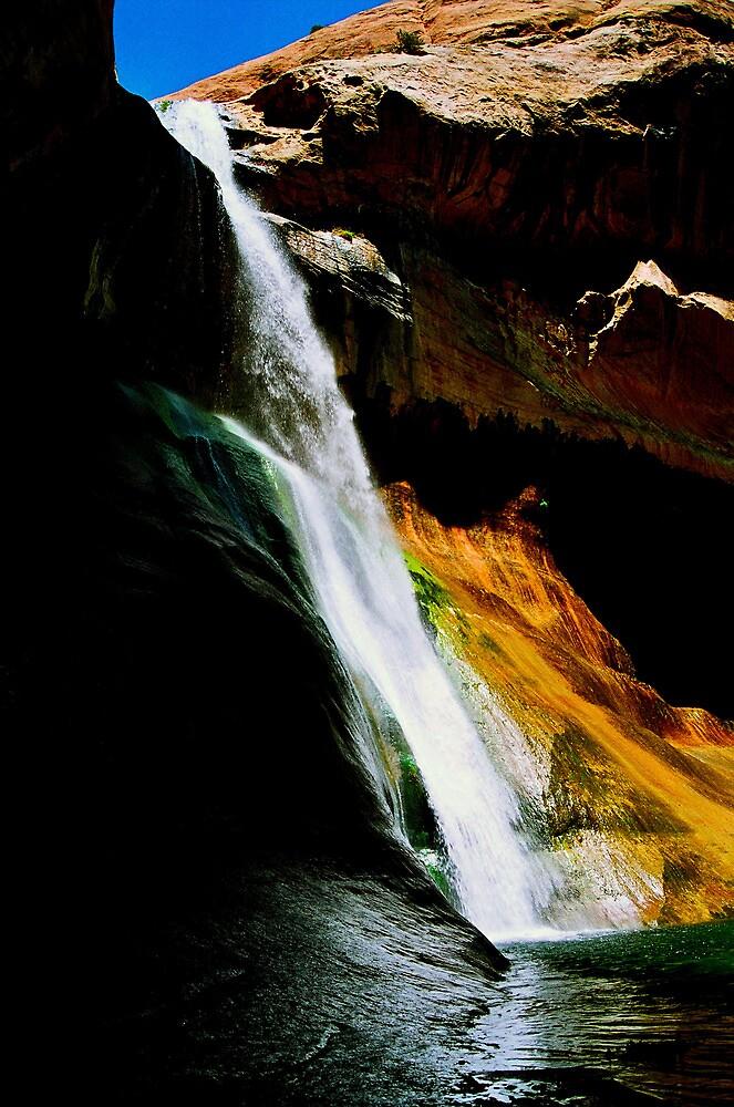 Lower Calf Creek Falls, UT by GodsEarth