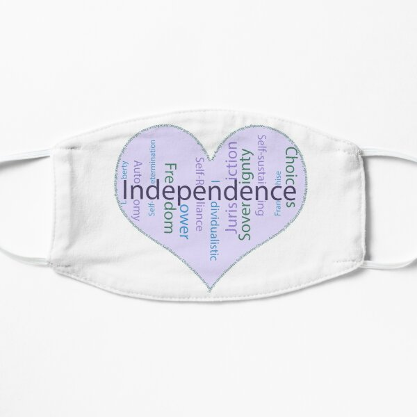 Independence Heart - Keeping It All Together (Blank Background) Mask
