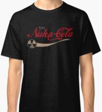enjoy nuka cola drink eat apocalypse game parody funny humor joke Classic T-Shirt