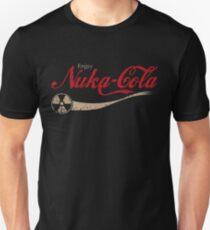 enjoy nuka cola drink eat apocalypse game parody funny humor joke Unisex T-Shirt