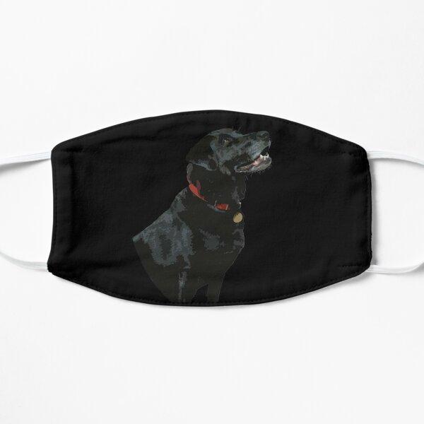 Adoration from a Black Labrador dog Mask