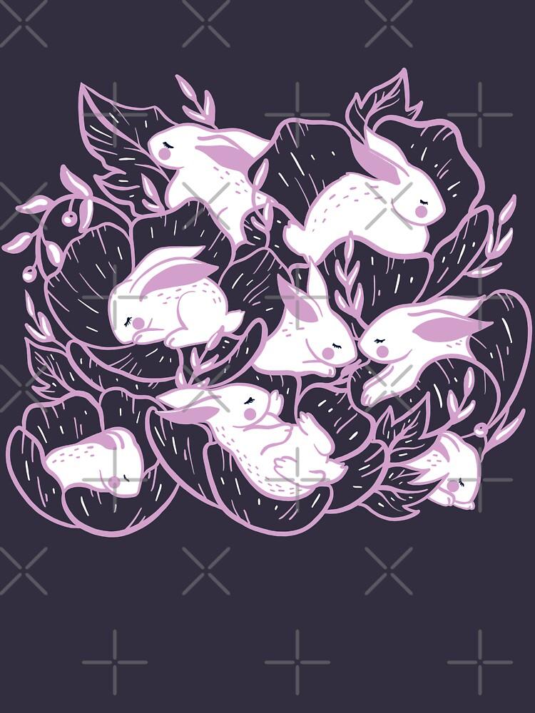 Where the bunnies sleep by Elenanaylor