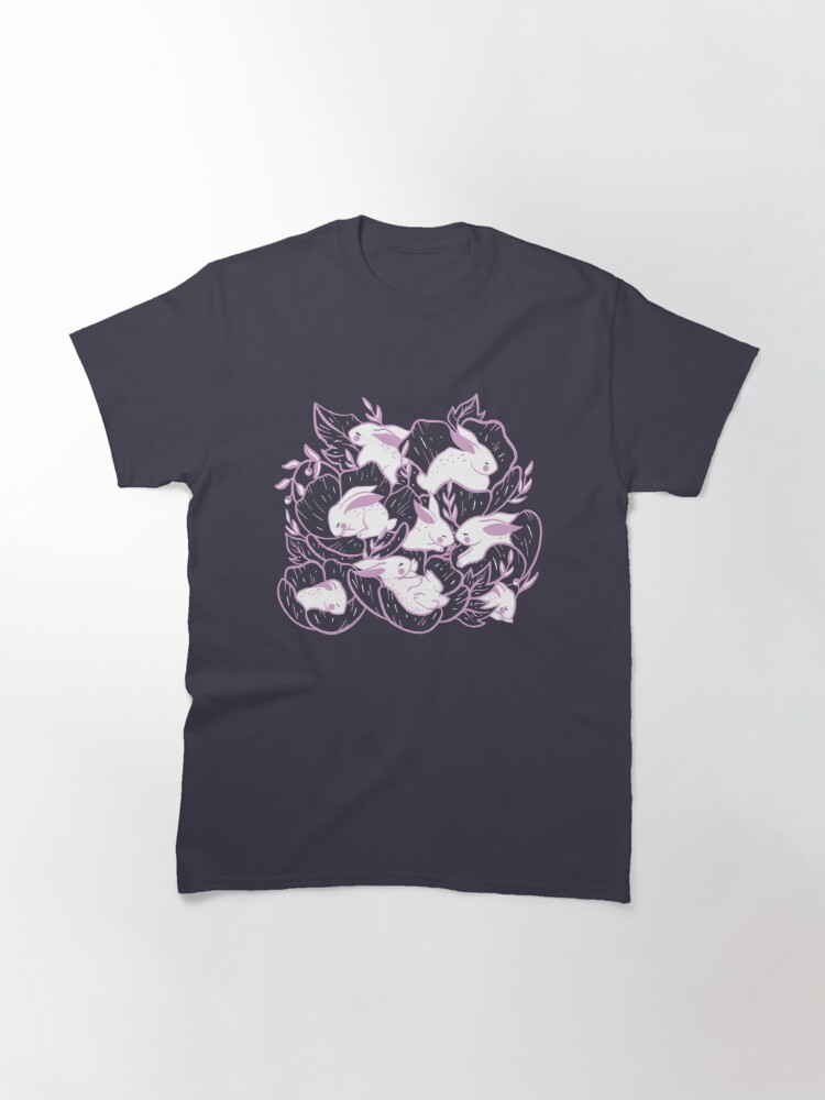 Alternate view of Where the bunnies sleep Classic T-Shirt