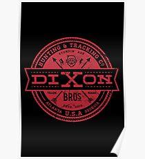 Dixon Bros. - Red Version Poster