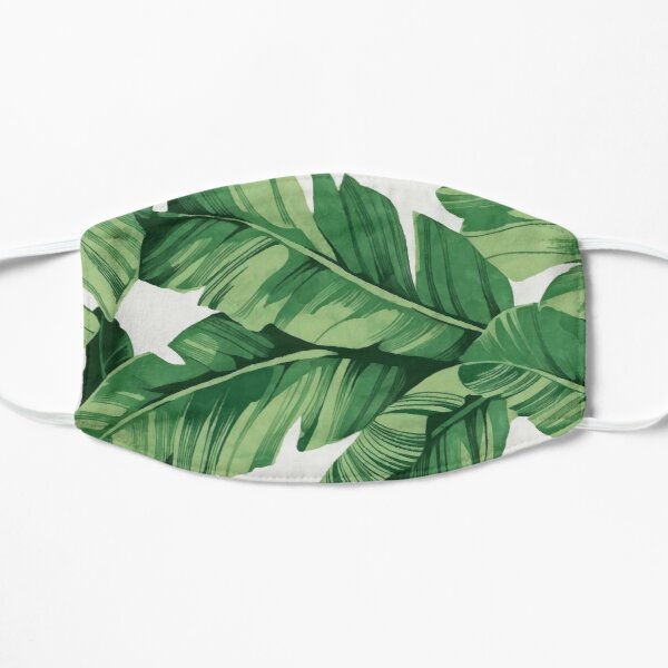 Tropical banana leaves Mask