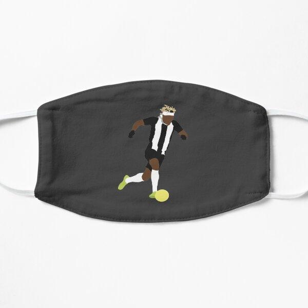 Allan Saint-Maximin. Newcastle, Football. Flat Mask