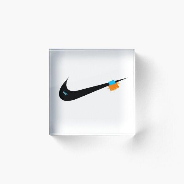 Off-white logo Acrylic Block