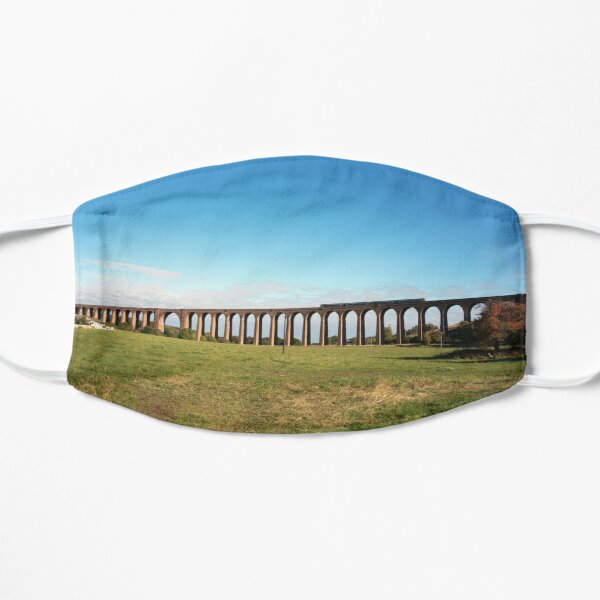 Culloden Viaduct with train Flat Mask