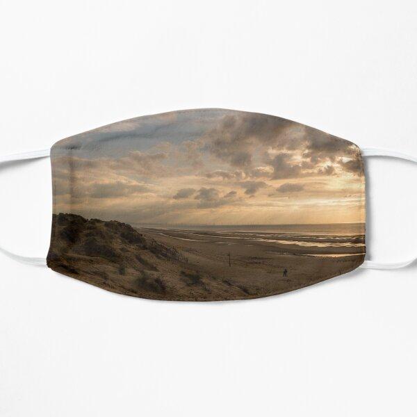 Formby Beach at Sunset Flat Mask