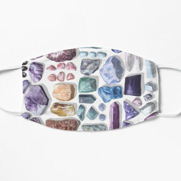 I Like Crystals Flat Mask