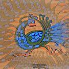 Peacock by Margherita Bientinesi
