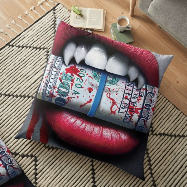 BLOOD MONEY Floor Pillow