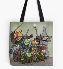 Fellowship of the Muppets Tote Bag