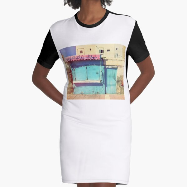 Sunday in Morocco Graphic T-Shirt Dress