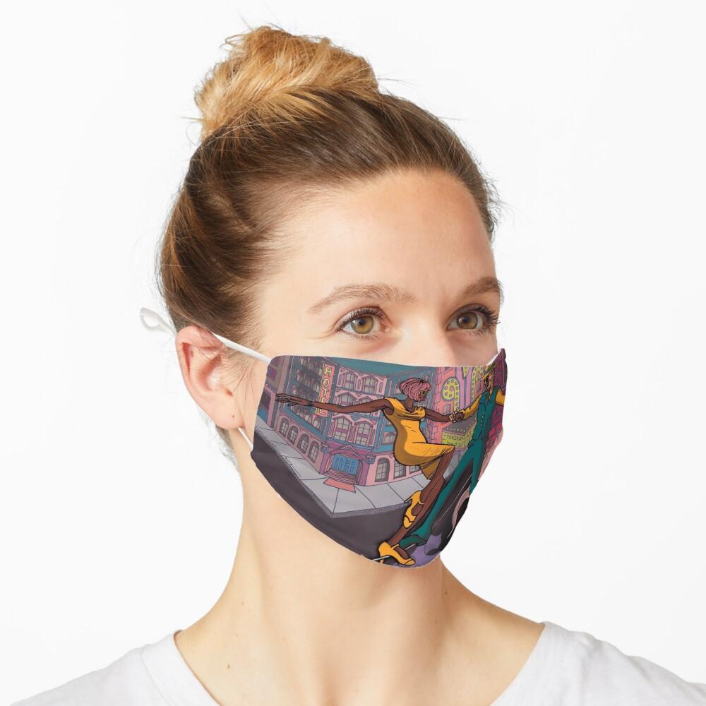 The Precipice Swing  Mask