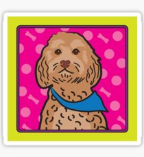 Cockapoo Cartoon Sticker