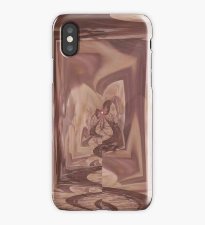 Brown butterfly I phone 4 iPhone Case/Skin