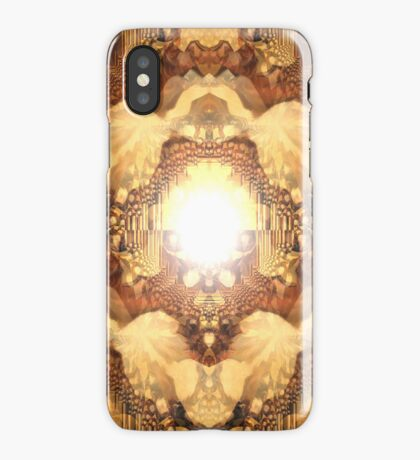 Playing with brown I phone 4 iPhone Case/Skin