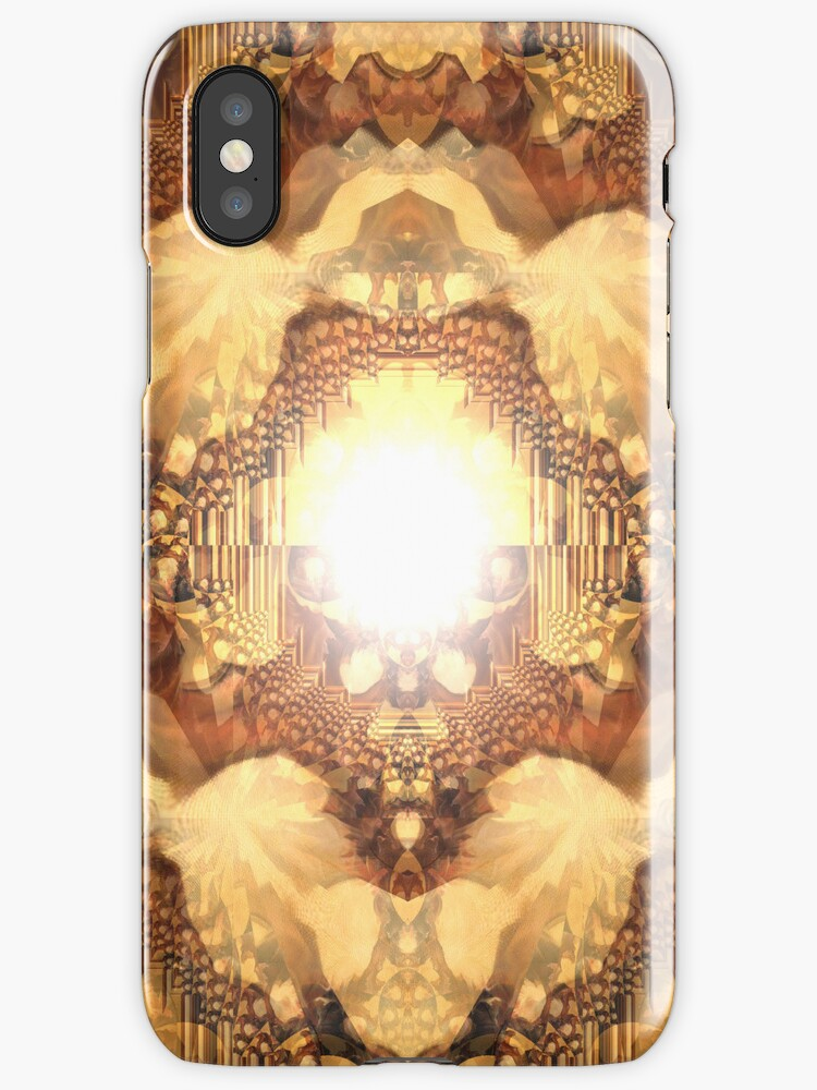 Playing with brown I phone 4 by Margherita Bientinesi